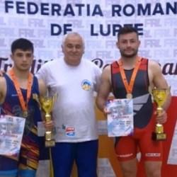 Mihuț și Pîrvan au strălucit la Cupa româniei de lupte greco-romane