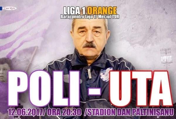 """Ionuț Popa prefațează barajul cu UTA: """"Cele două echipe ar trebui să fie permanent în Liga 1, va avea câștig de cauză echipa mai inteligentă, mai norocoasă"""""""