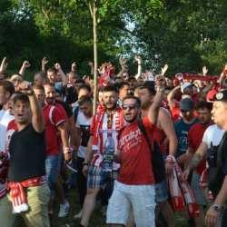 S-a intrat în weekendul marelui derby cu Poli: Fanii arădeni își mobilizează favoriții la ultimul antrenament și fac deplasarea cu autocarele la Timișoara!