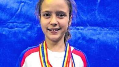 Photo of Halterofila Dorina Tofan e sportivul anului 2019 la CS AMEFA