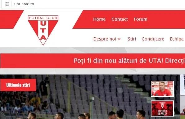 UTA – ACS Poli, în direct pe uta-arad.ro  și contul de Facebook al clubului. Mai sunt 40 de bilete de vânzare!