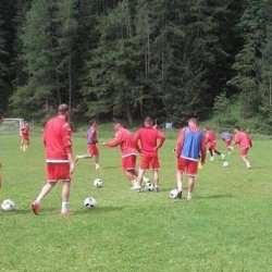 Utiștii au demarat pregătirea în Alpii austrieci, Polgar are program separat