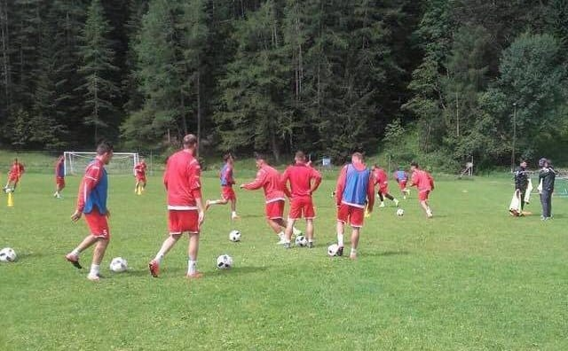 Utiștii au demarat pregătirea în Alpii austrieci, Polgar are program separat