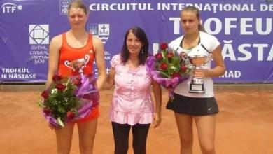 """Photo of Slovaca Mihalikova, prima """"rachetă"""" a  Trofeului Ilie Năstase la tenis de câmp"""
