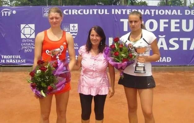 """Slovaca Mihalikova, prima """"rachetă"""" a  Trofeului Ilie Năstase la tenis de câmp"""