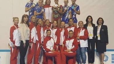 Photo of Gabriel Bocșer, triplu medaliat cu aur la Europenele de gimnastică aerobică pentru seniori