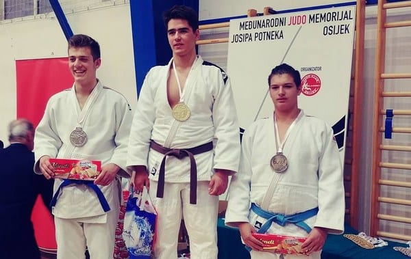 """David Turc – """"bronz"""" la EuroLiga de la Osijek! Și alți judoka ai CSM-ului au strălucit la puternica întrecere din Croația"""