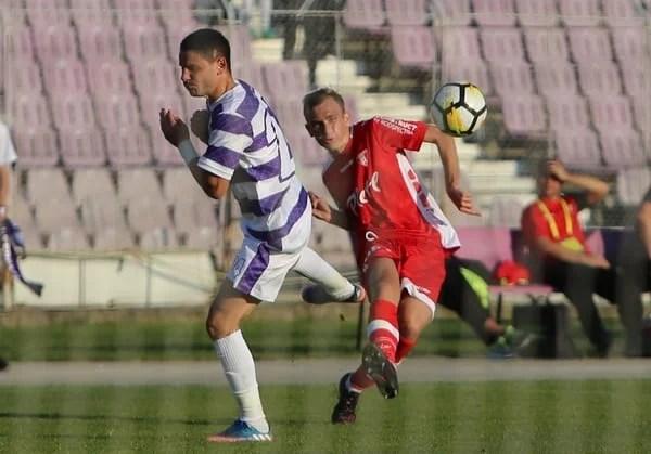 """Debut abrupt pentru Iuga în Liga 2-a: """"Anul trecut am răgușit în tribune, acum mi-am dat viața pe teren într-un derby cu Poli. Se pare că atât s-a putut azi"""""""