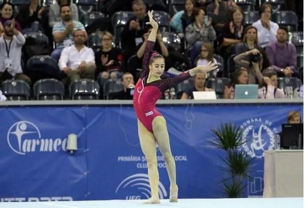 FIG a decis: Arădeanca Olivia Cîmpian va reprezenta Ungaria în competițiile internaționale de gimnastică