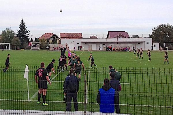 """""""Studenții"""" arădeni nu au putut profita de lecția de arbitraj a galezului Crawford: CS UAV Arad – Gloria Buzău 17-36"""