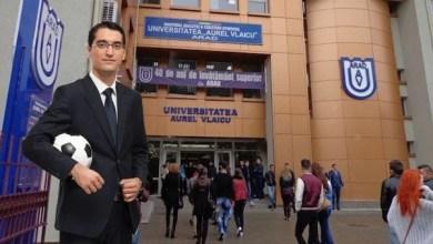 Photo of Burleanu vine la Arad pentru festivitatea de deschidere a cursului de administrator structuri sportive de la UAV
