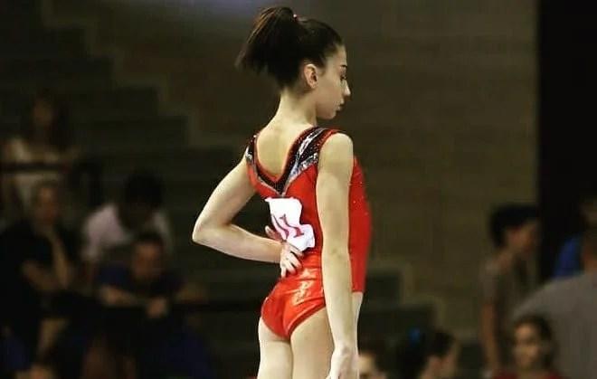 Iulia Berar, cea mai bună gimnastă junioară a României