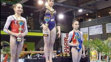 Photo of Iulia Berar a cucerit bronzul la Top Gym Belgia
