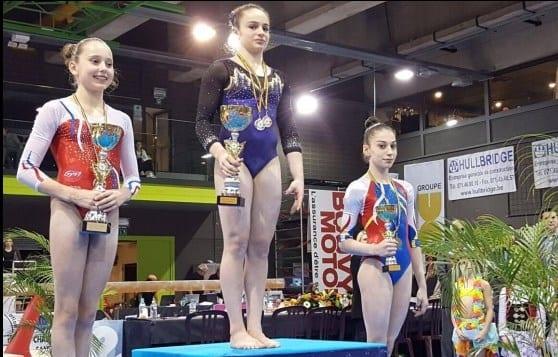 Iulia Berar a cucerit bronzul la Top Gym Belgia