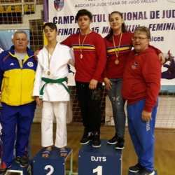 Cinci medalii naționale pentru judoka arădeni la Under 15