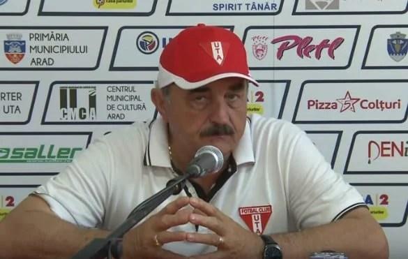"""Popa: """"Un rezultat care ne satisface, în momentul în care am preluat echipa speram ca acest derby să-l jucăm la Arad"""""""