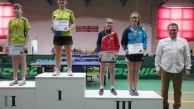 Photo of Irina Rus a urcat pe podium la naţionalele juniorilor II la tenis de masă