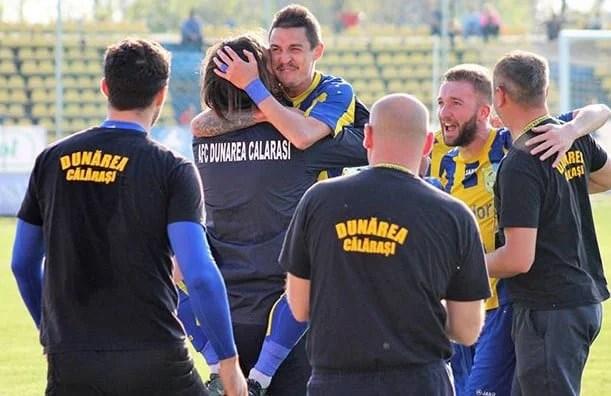 Liga II-a, etapa a 33-a: Dunărea Călărași e prima echipă promovată în Liga 1, Clinceniul o ține pe Metaloglobus pe loc retrogradabil