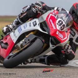 Arădeanul Robi Mureșan e lider al Euro BMU la motociclism viteză
