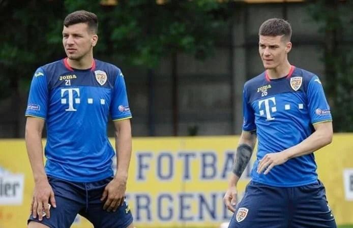 Țucudean, în lotul lui Contra pentru meciurile cu Lituania și Muntenegru; Man și Petre au amical cu Belgia, la U21