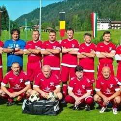 """""""Old- boys"""" UTA a cucerit locul 4 și...multe inimi la turneul de la Kössen"""