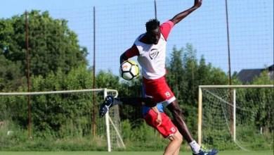 """Photo of Senegalezul Benga are ideile clare în """"alb-roșu"""": """"Un ambient ce-mi poate oferi multe, atât la nivel fotbalistc cât și uman"""""""