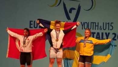 Photo of Halterofila Luciana Condurache e triplă campioană europeană