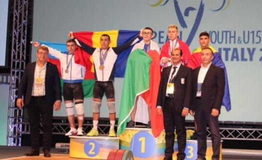 O altă zi fructuoasă la Milano: Halterofilul Emanuel Danciu, dublu medaliat european!