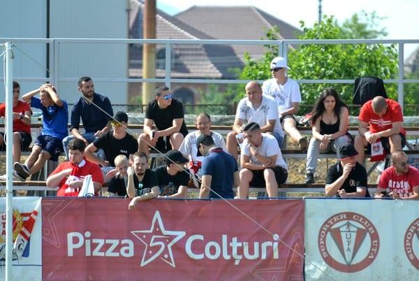 """Efectele """"exilului"""" la Șiria: UTA este la mijlocul clasamentului la capitolul număr de spectatori la meciurile de acasă"""