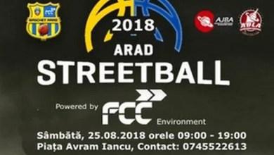 Photo of Arad Streetball – inclusă și în acest an în calendarul zilelor orașului: Întâlnirea e pe 25 august, în Piața Avram Iancu
