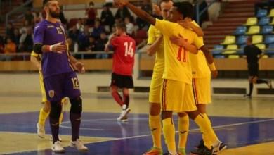 """Photo of Futsal: România – Albania 3-1, în primul amical de la Polivalenta arădeană. """"Returul"""" se joacă mâine, la ora 12"""