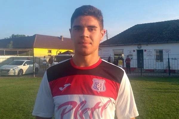 """Gabriel Buta, pariul de 16 ani al Lipovei - la primul gol în Liga 3-a: """"Sentiment frumos, unic, când vezi mingea intrând în plasă"""""""