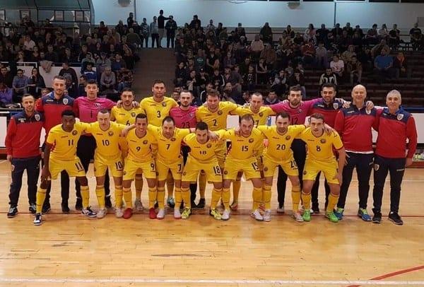 Naționala de futsal a României întâlnește Albania la Arad!