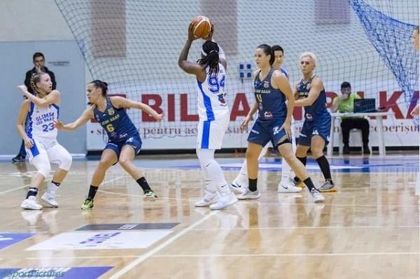În joc doar în primul sfert și puțin spre final: Olimpia CSU Brașov - FCC ICIM Arad 87-76