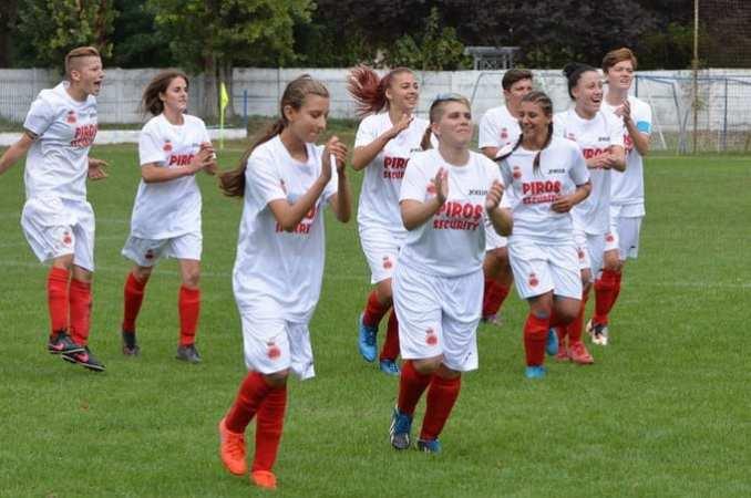 Goleadă și în Cupă în derby-ul Aradului la fotbal feminin: CS Ineu – AC Piroș Security  4-11