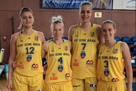 FCC ICIM Arad, argint la Cupa României de baschet 3×3