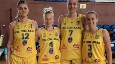 Photo of FCC ICIM Arad, argint la Cupa României de baschet 3×3