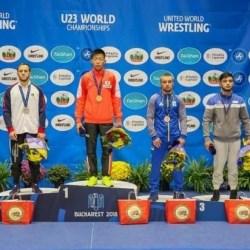 Luptătorul Mihai Mihuț, bronz mondial la București