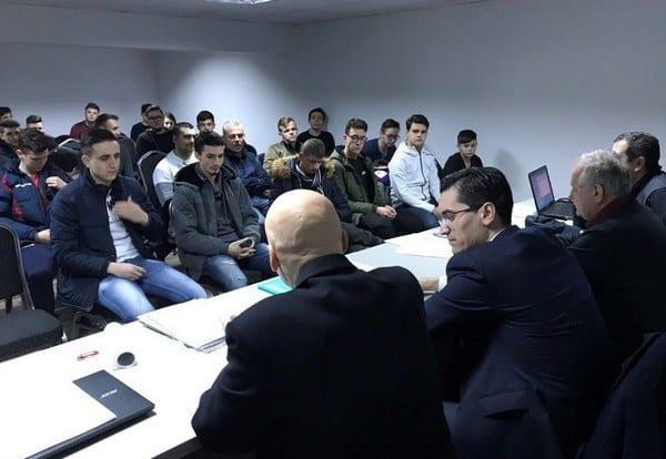 Noul curs de formare al arbitrilor arădeni demarează pe 14 ianuarie 2019