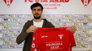 """Photo of A venit semnătura lui Melinte: """"Mi-aș dori foarte mult să joc cu UTA în Liga I, ținând cont că aici am debutat"""""""