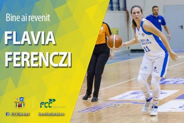 Ferenczi părăsește Brașovul pentru a reveni la ICIM: trupa arădeană se întărește pentru play-off