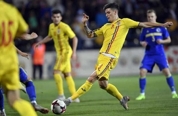 """Dennis Man a închis conturile în Malta, cu primul său gol în tricoul primei reprezentative """"tricolore"""""""