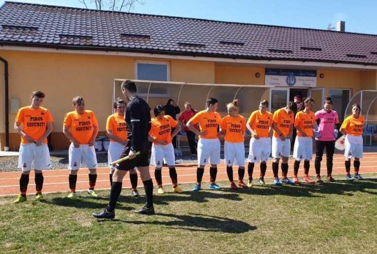 Cu sărbătorita Cociuba în mare vervă, Piroș Security a făcut scor și cu fotbalistele de la Olimpic Star