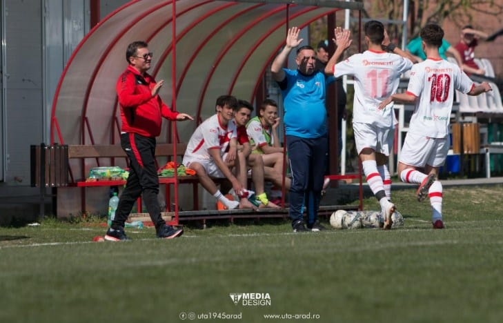 Weekendul perfect al UTA-ei a fost completat de juniorii Under 19 și Under 17: Echipa lui Aslău și Petcuț - la al doilea succes stagional
