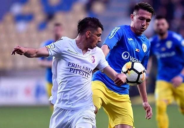 Liga a II-a, etapa a 30-a: Argeșul câștigă în prelungiri derby-ul județean cu Mioveniul și îi suflă în ceafă Petrolului