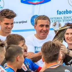 Cupa Hagi Danone revine, în weekend, la Arad: Se caută o echipă pentru finala de la Constanța și - poate - pentru cea de la Barcelona!