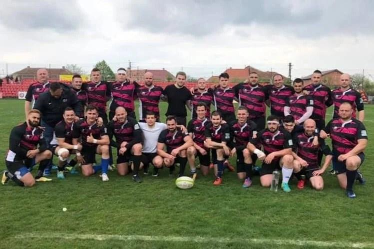 Victorie la final de sezon și locul 2 în play-out: CSM Sibiu - CS Universitatea Arad  19-38