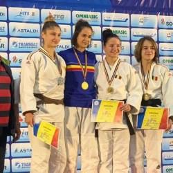CSU Aurel Vlaicu în Top 6 la Cupa României la judo seniori: Patricia Petraş - performera delegației arădene