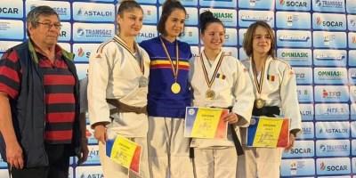 CSU Aurel Vlaicu în Top 6 la Cupa României la judo seniori: Patricia Petraş – performera delegației arădene