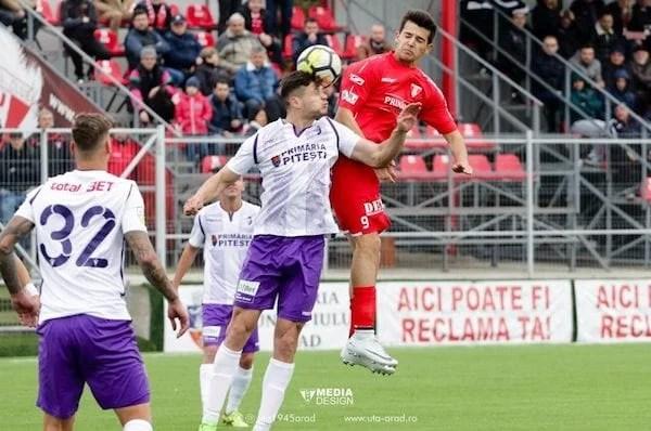 Livetext Liga a 2-a, ora 11: FC Argeș – UTA 2-1, final